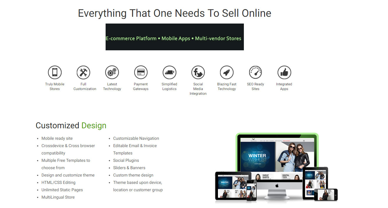 E-commerce website designing, E-commerce Platform • Mobile Apps • Multi-vendor Stores